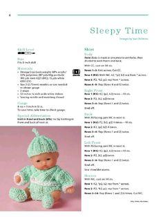 Aperçu du fichier Itty bitty knitties - Page - Fichier PDF Baby Hat Knitting Patterns Free, Knitted Doll Patterns, Baby Hats Knitting, Knitted Dolls, Knitting Dolls Clothes, Baby Doll Clothes, Crochet Doll Clothes, Doll Clothes Patterns, Knit Baby Sweaters