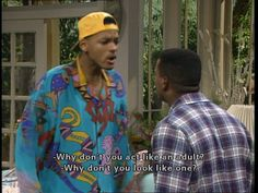 Hahahaha Fresh Prince. No i didn't grow up in the 90s. Yes i still love all the shows.
