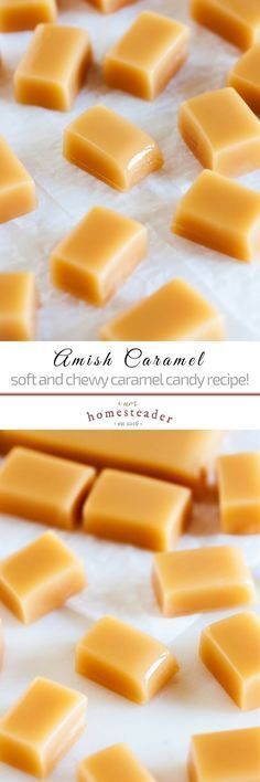 Love easy amish recipes? Try Amish caramel candy! Such a sweet treat, the best for holidays, setting out for guests or gift-giving! Check us out at #iamhomesteader for more healthy homemade cooking and homesteading recipes you can do at home. #sweettooth  #Homestead #homesteading