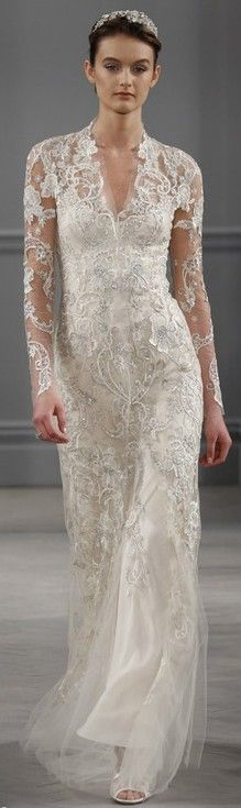 Monique Lhuillier Bridal Spring 2014 ♥✤ | Keep the Glamour | BeStayBeautiful