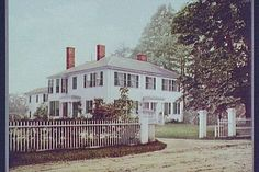 A literary road trip through New England - Ralph Waldo Emerson House - and meeting place for Transcendental club