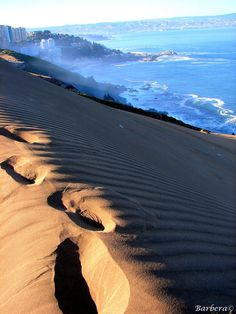 Sand Dune, Via del Mar, Chile Places To Travel, Places To See, Visit Chile, Worldwide Travel, South America Travel, Ciel, The Great Outdoors, Beautiful Places, Scenery