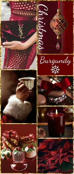 '' Christmas~ Burgundy '' by Reyhan S.D.
