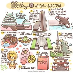 Our destination for today is... Nagoya! (*^▽^)/ Nagoya is one of the largest cities in Japan. It's port is also one of the biggest and busiest ports in the country! These are some of the things you can do in Nagoya. Sharing the Worldwide JapanLove ♥️ www.j