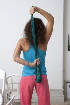 ryggträning med handduk | Life by Leila