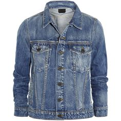 Proenza Schouler Denim jacket found on Polyvore