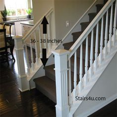 wood banisters | Gripable Stair Banisters for Guardrail