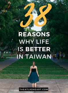 38 Reasons Why Life is Better in Taiwan | Asia Travel
