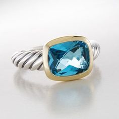"david yurman blue topaz noblesse--""need"" this to go with my bracelet!"