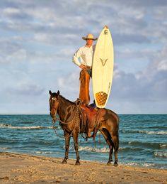 Surf board Cowboy.