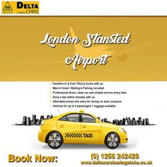 Find a customer friendly & affordable airport pickup service in Basingstoke. Check out the smart airport cab service. Contact now 1256 London Southend Airport, London City Airport, London Airports, Gatwick Airport, Heathrow Airport, Bristol City Centre, North Somerset, Taxi