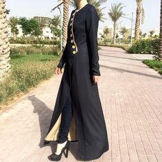 Beautiful abaya made of linen has been added to our collection.