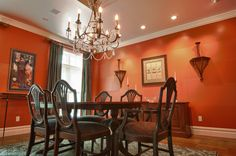 Hot Dining Room Colors