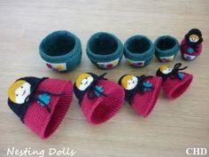 Amigurumi Russian Doll Pattern : Nesting dolls cal matryoshka pattern u large doll free