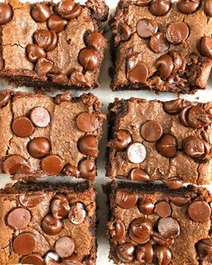 Chocolate chickpea blondies are a delicious healthy dessert and healthy night snack