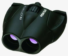 Pentax 62212 UCF-X II 10x25 Binocular by Pentax. $72.95. From the Manufacturer                 Combining high-resolution optics and stylish, streamlined bodies with outstanding cost performance, the 10x25 UCF X II offers excellent image quality and viewing comfort for most general-purpose applications, including wildlife, sports and theatrical observations.  Offering 10x magnification, the UCF X II features the Pentax-original dual-axis eye-distance adjustment s...