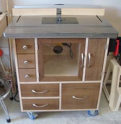 Router table cabinet - by nwbusa @ LumberJocks.com ~ woodworking community