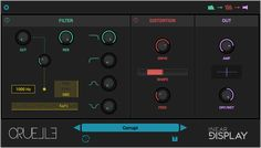 Cruelle | Inear Display Creative VST and Audio Unit Plugins