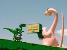 Lenny's visiting dinosaur land for Memorial Day... . #memorialday #grateful #lennyraptor #utah #vernal #dinosaurland #lego #minifiguresbigworld #afol #legominifigures #toyslagram_lego #instalego #legostagram #brickcentral #legoart #legography #legogram #joecowlego #brickpichub #bricknetwork #toyartistry_lego #lego_hub #brickshift #vitruvianbrix #stuckinplastic #brickculture #toy_photographers #utahtoycrew