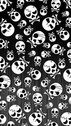 Halloween Skulls IPhone Wallpaper - IPhone Wallpapers