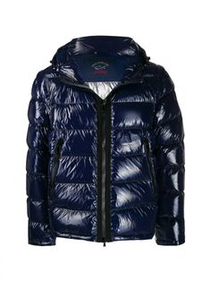 Paul & Shark Quilted Puffer Jacket In Blue Shark Man, Navy Quilt, Paul Shark, Puffer Jackets, Neue Trends, The North Face, Mens Fashion, Outfit, Blue