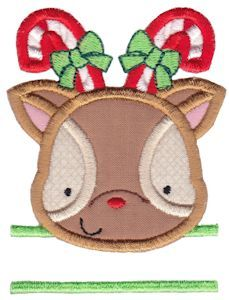 Split Christmas Applique Too applique machine embroidery designs at Bunnycup Embroidery.