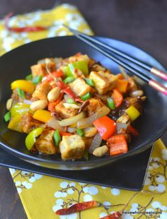 Kung Pao Tofu - The View from Great Island