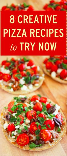 8 untraditional pizza recipes