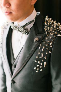 Christian Louboutin – Bride and Breakfast Punk Wedding Dresses, Punk Rock Wedding, Edgy Wedding, Wedding Tux, Skull Wedding, Gothic Wedding, Wedding Blog, Wedding Ideas, Luxury Wedding