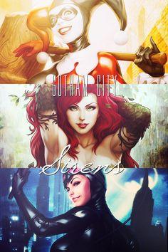Gotham City Sirens aka Kick-Ass DC Comics Women.