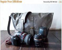 SUMMER SALES Dslr Fold messenger Camera Bag with Insert