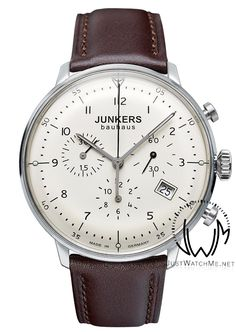 Just Watch Me - Junkers Bauhaus 6086-5 Chronograph watch -Vintage style, $349.00 (http://www.justwatchme.net/junkers-bauhaus-6086-5/)