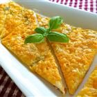 Garlic-Cheese Flat Bread Recipe - This was okay, but it was way too greasy