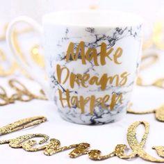 Make dreams happen ⭐️ Mug £2/€3.50 (Image credit: @die_alltagsfeierin) #Primark #PrimarkHome #homeware