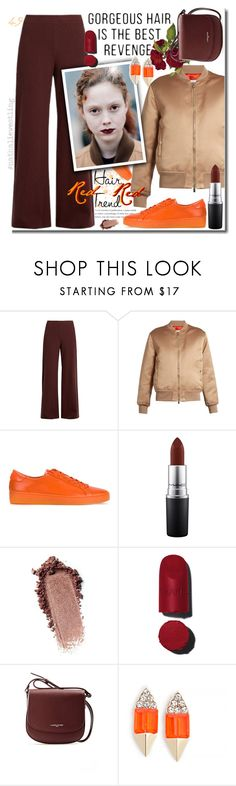 """Coordinated"" by rinagern ❤ liked on Polyvore featuring Simon Miller, Givenchy, MICHAEL Michael Kors, MAC Cosmetics, Lancaster and Carolyn Colby"