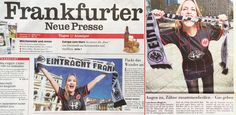 A little bit of good luck for the Eintracht Frankfurt! We want you to stay in the first league, where you belong! Thanks Enrico and Christian for the awesome article Nur die #SGE! ❤ #aufjetzt #eintracht #eintrachfrankfurt #fnp #galiabrener #GaliaInAction