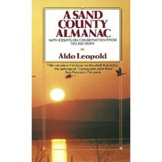 One of the books discussed in Nature Writing in an attempt to examine the evolution of nature writing.