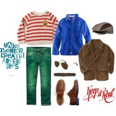 """Keep it Real Boys Style"" by goldberg117 on Polyvore featuring Bobo Choses, Zara, Gap, Crewcuts"