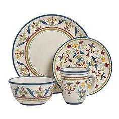 Bobby Flay™ Sevilla Blue 16-pc. Dinnerware Set
