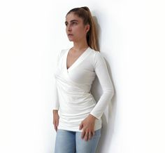 Looking for your next project? You're going to love PDF Pattern Women's Jersey/Knit Top n.23 by designer LuciaA..