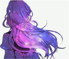 Imagen de anime and space
