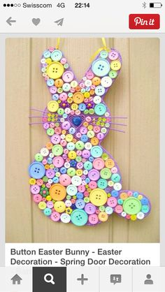 80 Fabulous Easter Decorations You Can Make Yourself - Page 2 of 8 - DIY &...