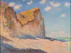 Claude Monet, Falaises près de Pourville (1882)