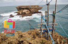 Wisata Jogja, Sensasi Extrim Berayun ke Pantai Timang Yogyakarta