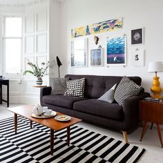 Living room | Victorian tenement flat | House tour | PHOTO GALLERY | Ideal Home | Housetohome.co.uk