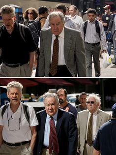 A proof that People won't change much . Photographer, Peter Funch spends 9 Years Shooting Same People On Their Way To Work, Shows How They Change Over Time