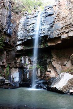 Cascada del Tigre Mazamitla pueblo mágico de Jalisco - México
