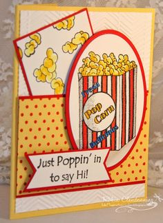 DRS Designs Rubber Stamps: Poppin' In