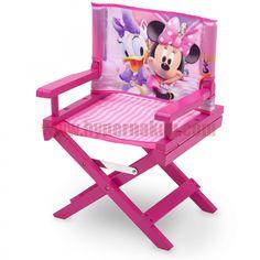 Disney detská režisérska pohodlná, prispôsobivá a praktická stolička, ideálna pre všetkých milovníkov Disney  rozprávky myška  MINNIE MOUSE . Stolička je vyrobená v originálnej licencii Disney.- Doporučené pre deti od 3 rokov- Pojme až 22,67 kg- Vyrobené z drevených materiálov a tkaniny- Spĺňa všetky bezpečnostné normy stanovené CPSC- Rozmery (cm): D 35,56 x Š 28,91 XV 53,34Detská režisérska stolička Disney MINNIE MOUSE | PREDAJ | HYPERNAKUP.COM