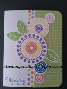 So Many Smiles stamp set with Kaleidscope -